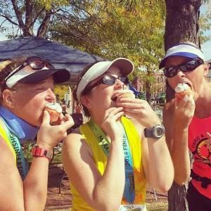 marathon cupcakes